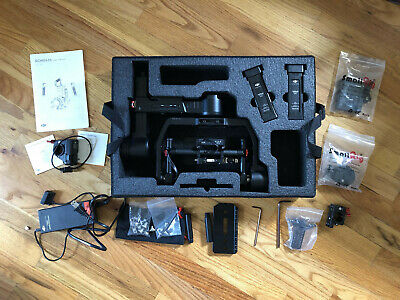 DJI Ronin M 3-Axis Brushless Gimbal Stabilizer, 2 Batteries, Case, & More
