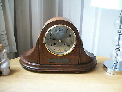 Antique / vintage large napoleon hat mantle clock