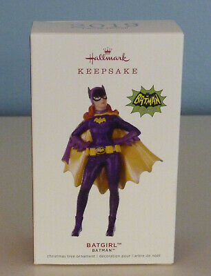 2019 Hallmark Ornament Batgirl/ Batman Series Tv Limited Edition