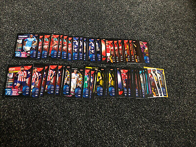 64 Topps Match Attax Champions League, Europa League2019/20 cards