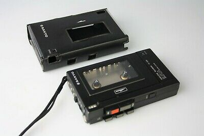 Sanyo Executive Talk-Book TRC-2500 Cassette Tape Recorder With Case