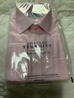 charles tyrwhitt New Mens Non Iron Shirt. 16 1/2 (34in)