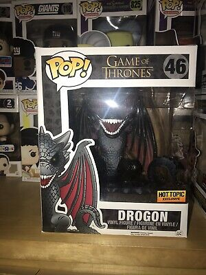 Funko POP! Red Eyes Drogon #46 Hot Topic Exclusive Game of Thrones
