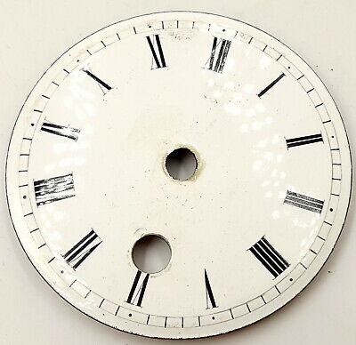 Antique  Clock enamel face