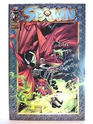 Spawn #50 NM- 9.2 Todd Mcfarlane  Homage Cover Of Spawn #1 Image Comics 1996