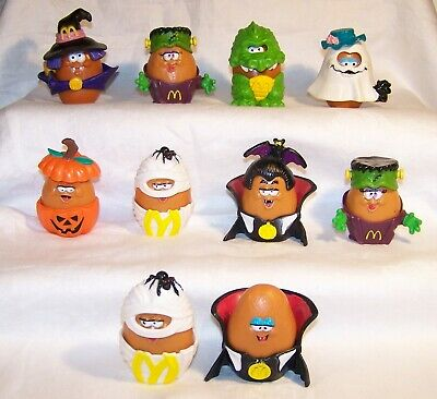 1992 McDonald's Chicken McNuggets Buddies Vintage Halloween Nugget Costumes Toys