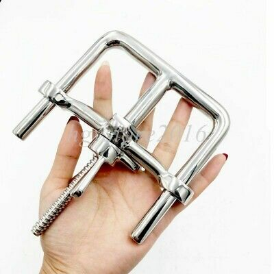 Sexaul Handcuffs-Stainless Steel Wrist Ankle Restraint Chain Lock Roleplay BDSM