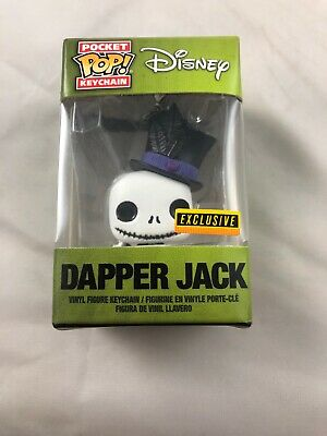 Funko Pocket Pop Keychain Dapper Jack Nightmare Before Christmas Hot Topic Excl