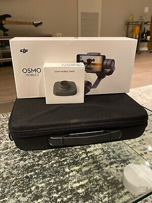 DJI Osmo Mobile 2 Gimbal System Stabilizer Plus Osmo Base & Carrying Case Combo