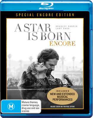 A Star is Born (2018): Encore (Special Encore Edition)  - BLU-RAY - NEW Region B