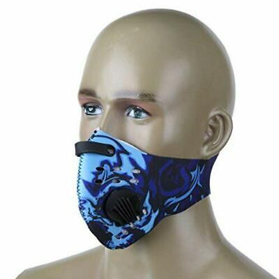 Unisex Cycling Face Mask Outdoor Anti-Dust Anti-Pollution Half Face Mask