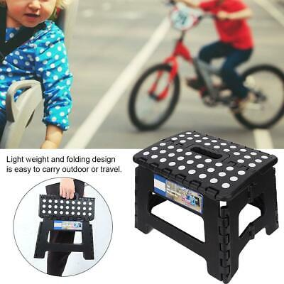 Portable Folding Step Up Stool Car Height Boost Elder Adult Kid Child 300lb