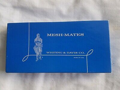 Vintage New Unused Whiting Davis  Cell Cigarette Glasses Case Glomesh Style