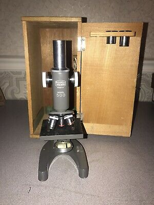 Bushnell Microscope Vintage Collectors Microscope