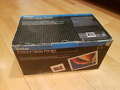 Vivitar Instant Slide Printer Polaroid, Image Transfer, Photography