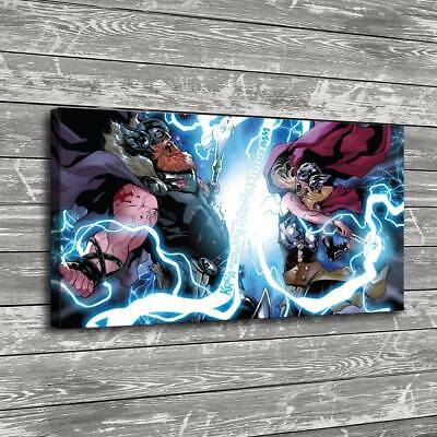 "16""x30""Thor Marvel Comics Home Decor HD Canva Print Picture Wall Art Painting"
