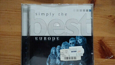 """1 CD von """"Europe - Simply the best, 13 Hits""""."""