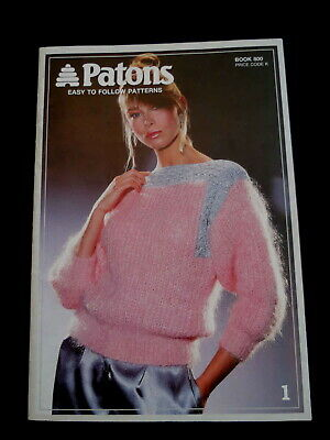 Vintage Knitting Book - Womens Patterns - Patons 800 - 1980s
