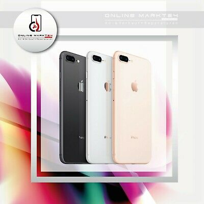 Apple iPhone 8 PLUS - 256GB - Spacegrau - Silber - Rot - Gold - soweit vorrätig
