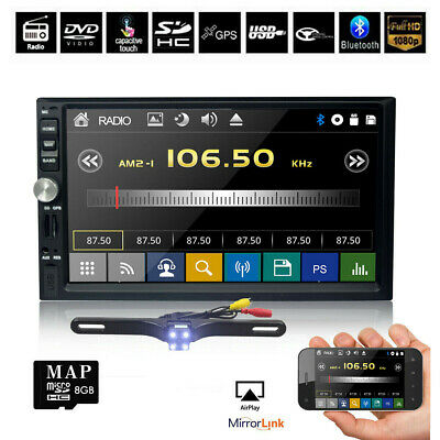 """2019 For Sony Lens Double 2Din 7""""Car Stereo Radio NONE DVD Player In Dash BT MP3"""