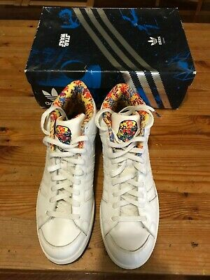 Adidas Star Wars Superskate Mid Shoes US11.5 Storm Trooper