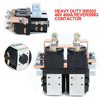 Solenoid US STOCK Heavy Duty 36 Volt DC 400A SW202 Style Reversing Contactor