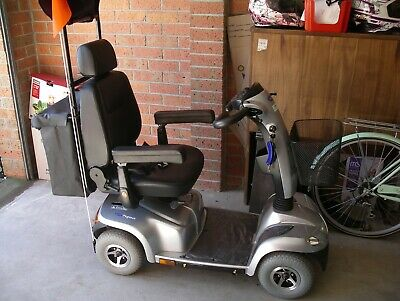 INVACARE PEGASUS 4 WHEEL mobility scooter. CHARGER, CANOPY HARDLY USED