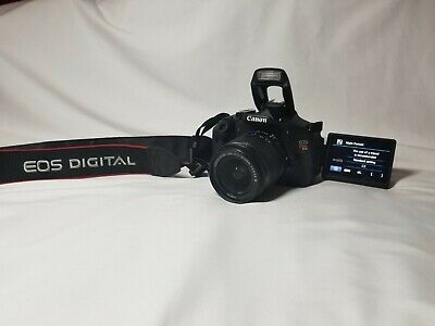 Canon EOS Rebel T3i / EOS 600D 18.0MP Digital SLR Camera With lense and charger