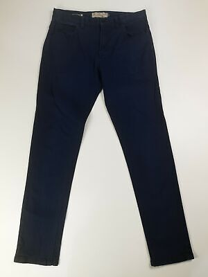 Womens Next Ankle Skinny Stretch Mid Rise Dark Wash Jeans Trousers 30S Short 30