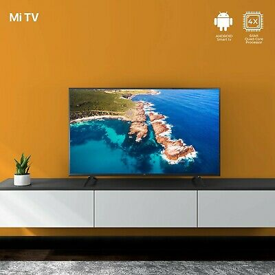 "【International Version】Xiaomi 32"" inch HDR AndroidTV UHD SMART Slim LED TV mi"