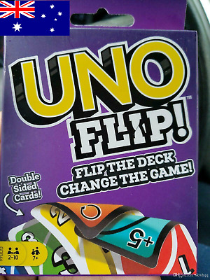 New UNO Flip Card Game Playing Card For Family Friends Party Fun