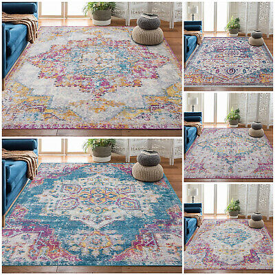 Extra Large Non Slip Floor Area Living Room Rugs Bedroom Kitchen Carpets Runners