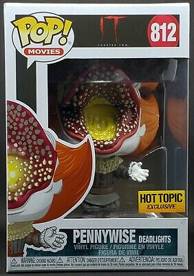 Funko Pop! It Chapter 2 #812 Pennywise Deadlights Hot Topic Exclusive Near Mint