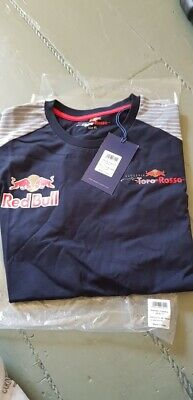 Official Red bull Scuderia Toro Rosso F1 Men's T-Shirt Size XL NEW