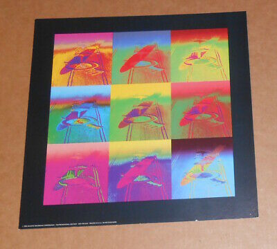 LED ZEPPELIN REMASTERS 2 sided promo flat from 1992  Suitable for framing  Mint!