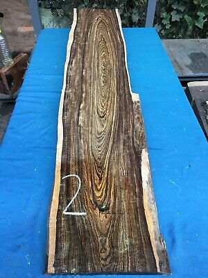 Bocote 30mm Lumber/Boards Waney Edge / High Figure/exotic Hardwoods