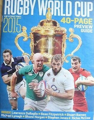 Rugby World Cup 2015-40 Page Preview Guide-Teams-Fixtures-Stats-Chart-Used