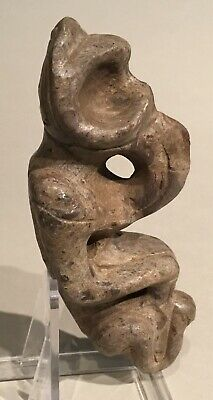 Taino. Bird Man Effigy. Stone. PreColumbian