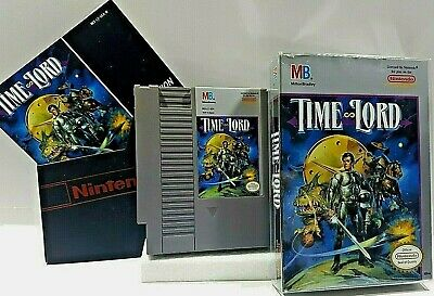 Time Lord COMPLETE IN BOX Nintendo Entertainment System NES Action VIDEO GAME