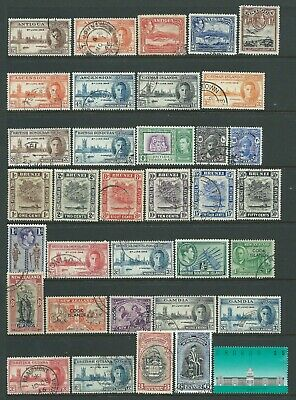 Collection of mostly good used GB Commonwealth stamps.