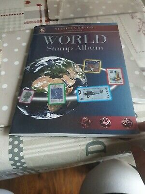 Stanley Gibbons World Stamp Album And Stamp Collection