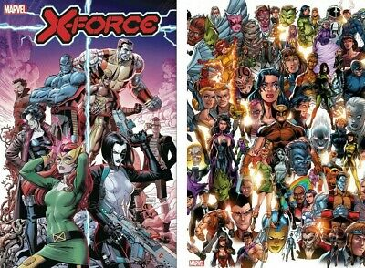 X-Force #1 (2019) DX Main + Bagley Every Mutant Variant NM 11-6-19