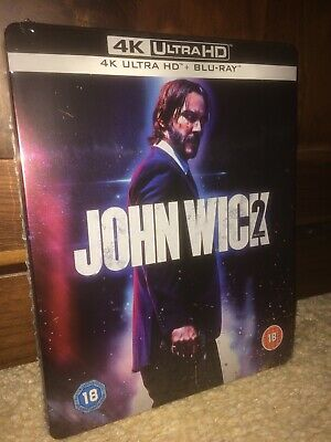 John Wick 2 4k Uhd Blu Ray Steelbook New Zavvi Exclusive SOLD OUT