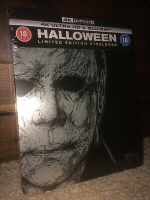 Halloween 4k UHD Steelbook Zavvi Exclusive New & Sealed SOLD OUT