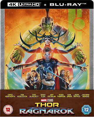 Thor Ragnarok 4K UHD/2D BluRay Zavvi Exclusive Steelbook PREORDER Sold Out