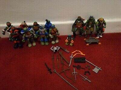TMNT Teenage Mutant Ninja Hero Turtles Playmates Action Figures Bundle Joblot