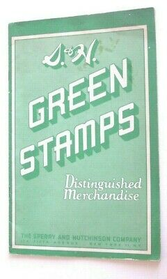 Vintage 1952 S&H Green Stamps Catalog--Rare