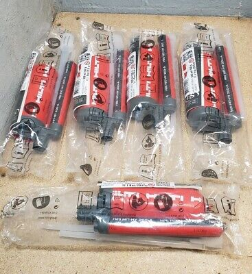 Hilti HIT - HY 200-A  injectable epoxy - expires on 01/2020
