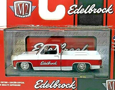 M2 Machines O'Reilly Chevy Truck Edelbrock Scottsdale Limited 1 of 4875