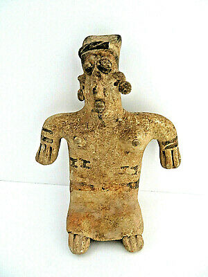 Pre Colombian TerraCotta Warrior Figurine 500-600 AD